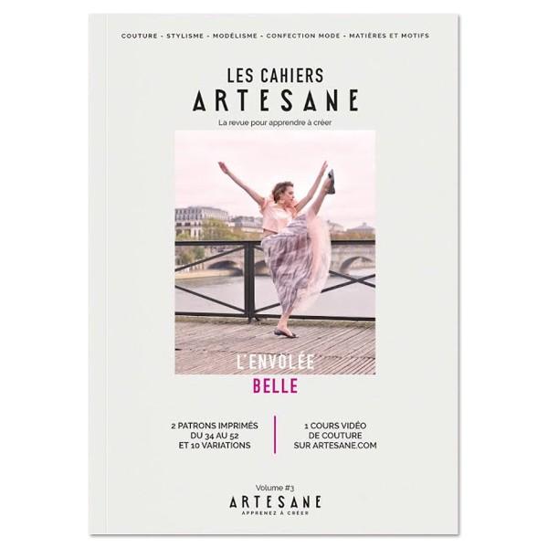 Livre couture - Les cahiers Artesane N°3 - L'envolée belle - Photo n°1