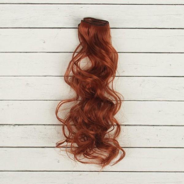 Cheveux Artificiels pour poupée, arc, bouclés, Longueur De Cheveux: 40 cm, Largeur: 50 cm, No 13, fa - Photo n°2