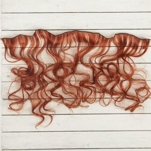 Cheveux Artificiels pour poupée, arc, bouclés, Longueur De Cheveux: 40 cm, Largeur: 50 cm, No 13, fa - Photo n°3