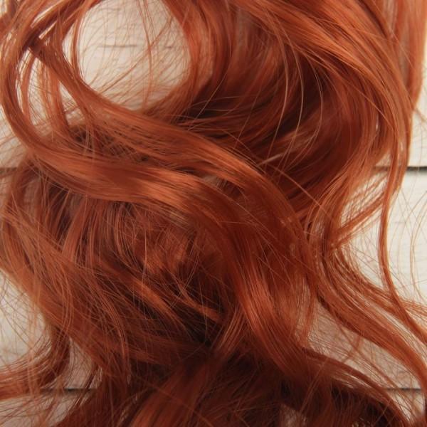 Cheveux Artificiels pour poupée, arc, bouclés, Longueur De Cheveux: 40 cm, Largeur: 50 cm, No 13, fa - Photo n°4