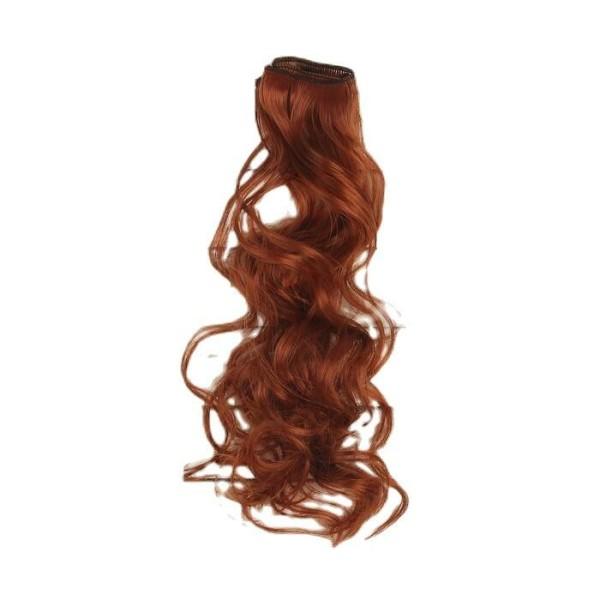 Cheveux Artificiels pour poupée, arc, bouclés, Longueur De Cheveux: 40 cm, Largeur: 50 cm, No 13, fa - Photo n°1