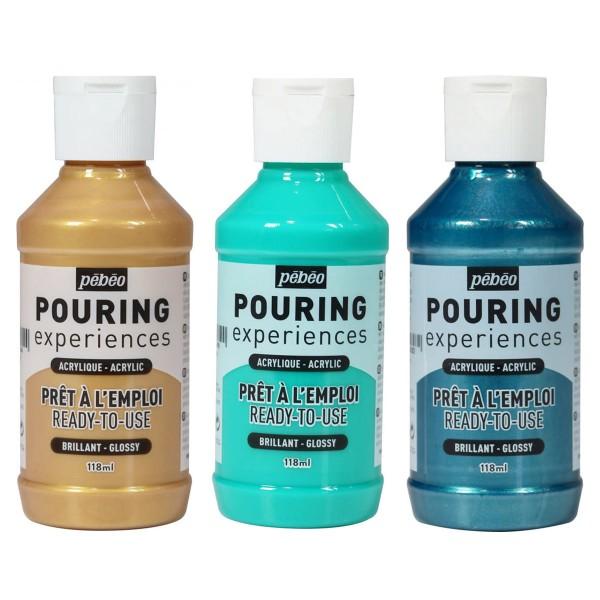 Peinture Acrylique Pouring Pébéo - 118 ml - Photo n°1