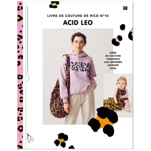 Livre de Couture Rico Design N°10 - Acid Leo - 48 pages - Photo n°1