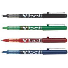 Stylo roller V-Ball 05 Pilot - Pointe fine - Plusieurs coloris disponibles