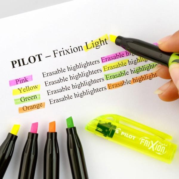 Surligneur effaçable Pilot - FriXion Light - Plusieurs coloris disponibles - Photo n°2