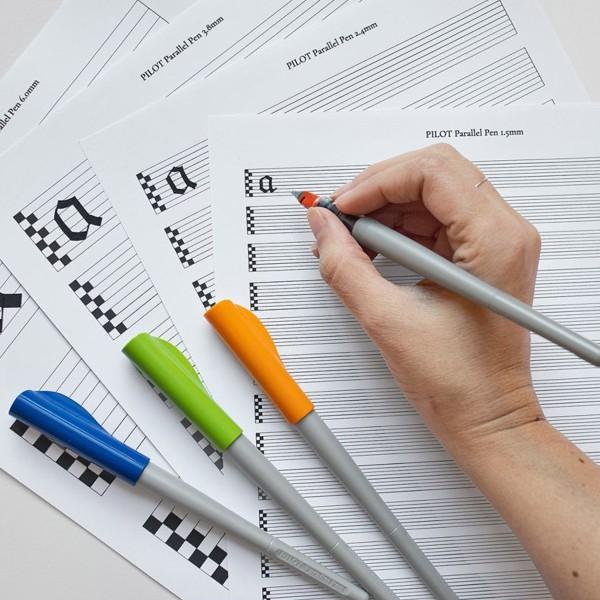 Stylo Plume pour Calligraphie - Parallel Pen Pilot - Rouge - 1,5 mm - Photo n°5