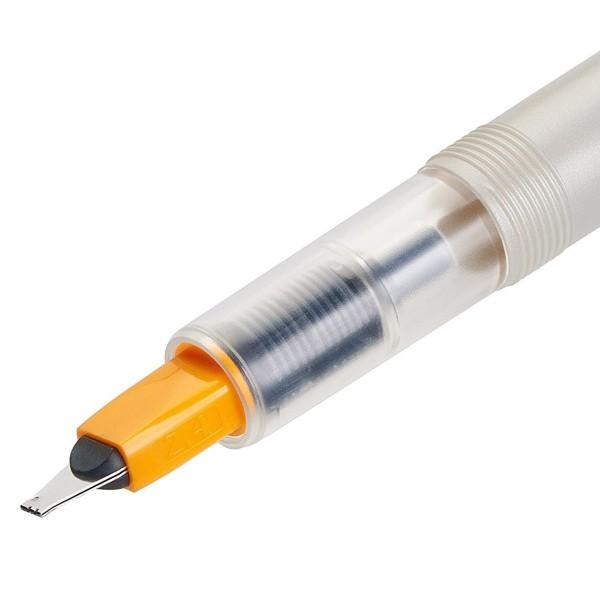 Stylo Plume pour Calligraphie - Parallel Pen Pilot - Orange - 2,4 mm - Photo n°4