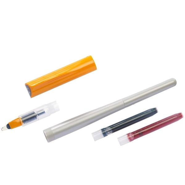 Stylo Plume pour Calligraphie - Parallel Pen Pilot - Orange - 2,4 mm - Photo n°6