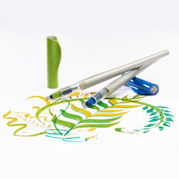 Stylo Plume pour Calligraphie - Parallel Pen Pilot - Vert - 3,8 mm - Photo n°5