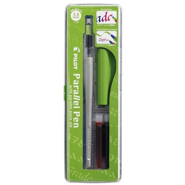 Stylo Plume pour Calligraphie - Parallel Pen Pilot - Vert - 3,8 mm - Photo n°1