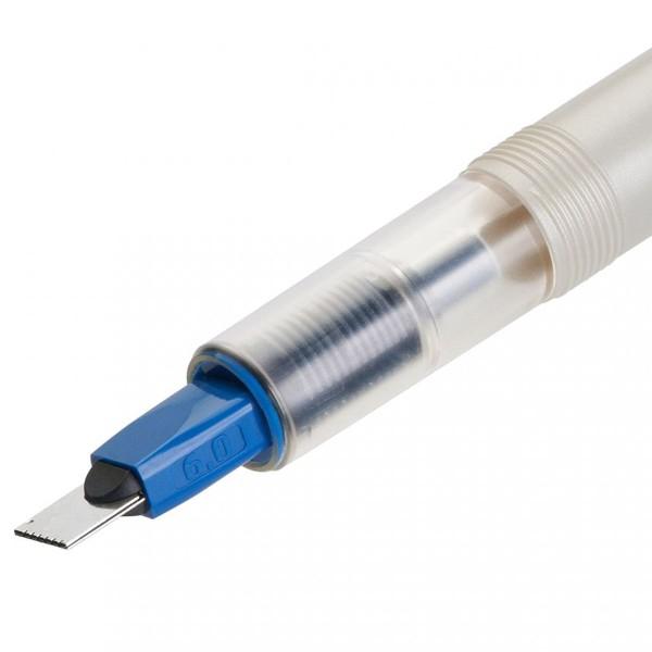 Stylo Plume pour Calligraphie - Parallel Pen Pilot - Bleu - 6,0 mm - Photo n°4