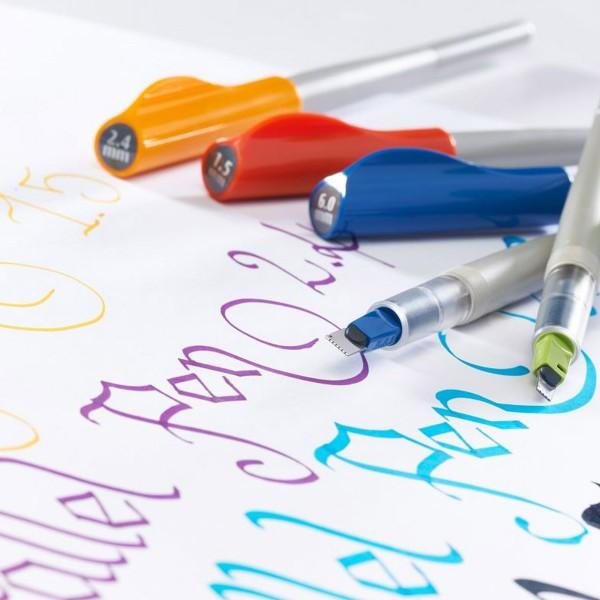 Stylo Plume pour Calligraphie - Parallel Pen Pilot - Bleu - 6,0 mm - Photo n°5