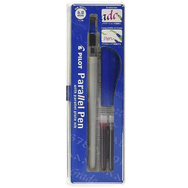 Stylo Plume pour Calligraphie - Parallel Pen Pilot - Bleu - 6,0 mm - Photo n°1
