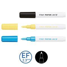 Feutre Peinture Pintor de Pilot - Pointe Extra-fine - Plusieurs coloris disponibles