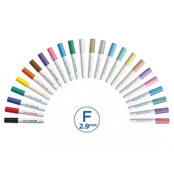 Feutre Peinture Pintor de Pilot - Pointe Fine - Plusieurs coloris disponibles - Photo n°4