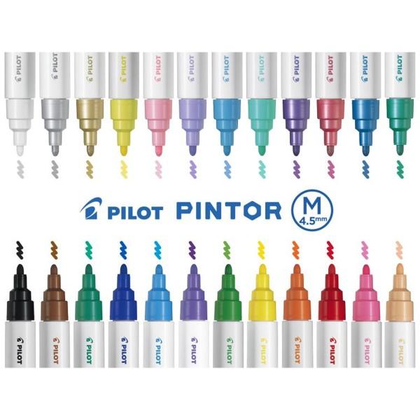 Feutre Peinture Pintor de Pilot - Pointe Moyenne - Plusieurs coloris disponibles - Photo n°2