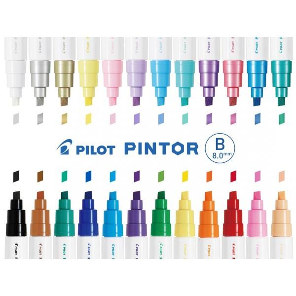 Feutre Peinture Pintor de Pilot - Pointe Large - Plusieurs coloris disponibles - Photo n°2