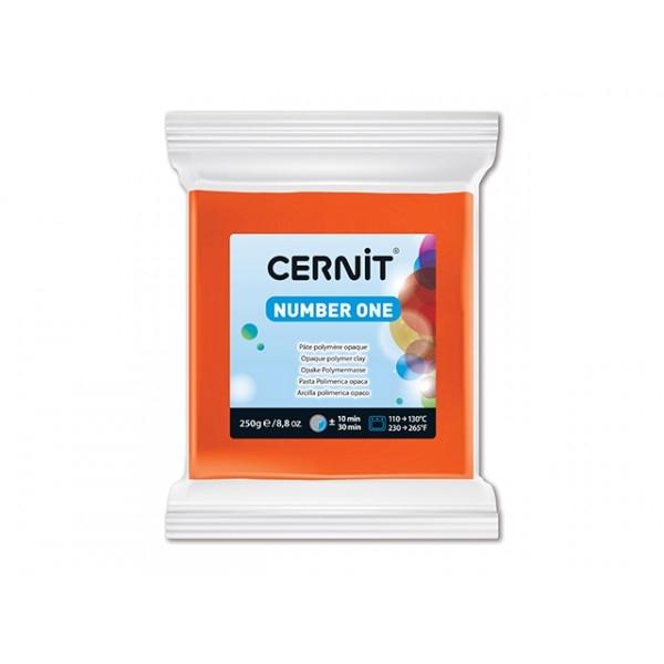 Pâte Cernit Number One Orange 250gr N°752 - Photo n°1