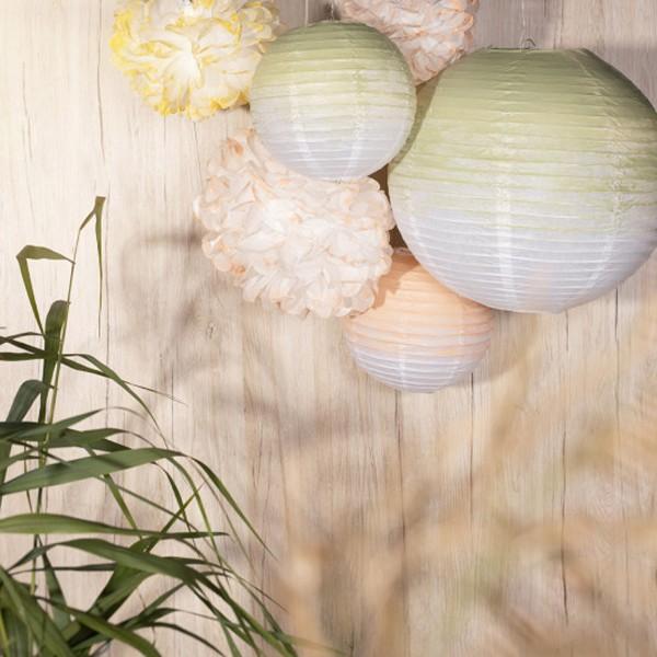 Lanterne en papier - Boule - 35 cm - 1 pce - Photo n°6