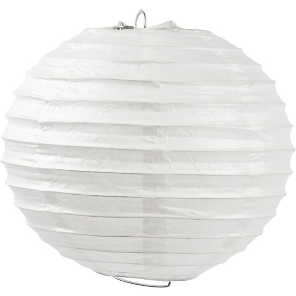 Lanterne en papier - Boule - 35 cm - 1 pce - Photo n°1