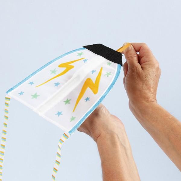 Cerf-volant à décorer - 17 x 14 cm - 1 pce - Photo n°2