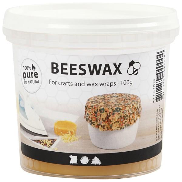 Pot de cire d'abeille 100 % naturelle - 100 gr - Photo n°1