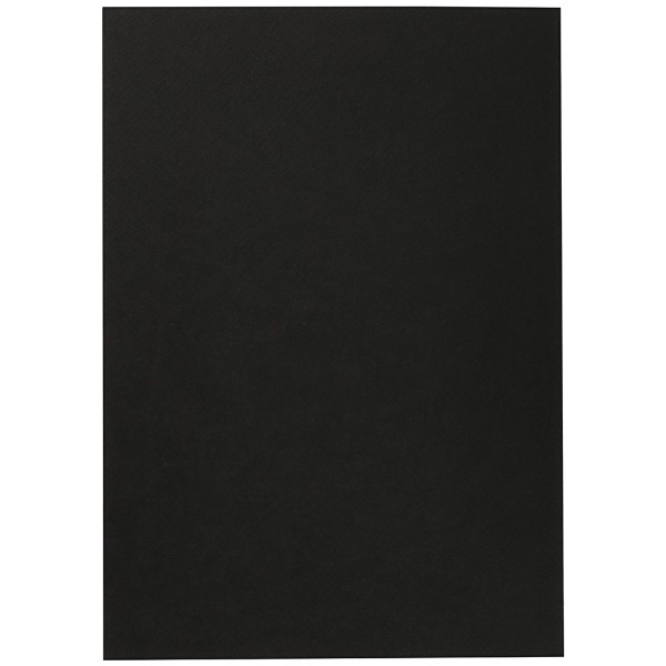 Papier aquarelle noir A4 - 300 g - 10 feuilles - Photo n°2