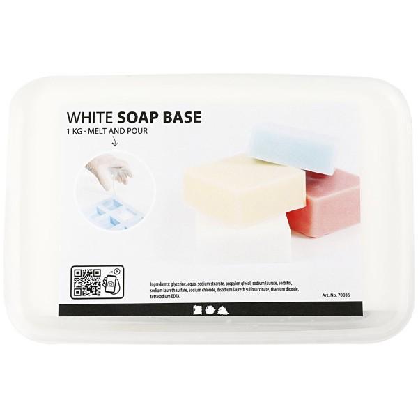 Base de savon - Blanc - 1 kg - Photo n°2