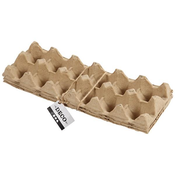 Boîtes à oeufs pour activités manuelles - 30,5 x 11 cm - 3 pcs - Photo n°3