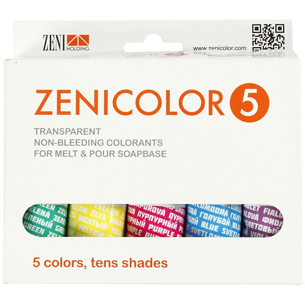 Colorant pour savon - couleurs assorties - 5 x 30 g - Photo n°2