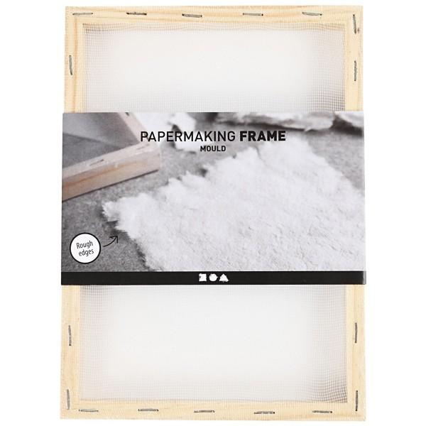 Tamis pour fabrication de papier - 23 x 17 x 2 cm - Photo n°2