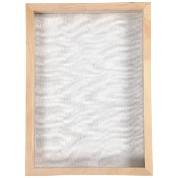Tamis pour fabrication de papier - 23 x 17 x 2 cm - Photo n°4