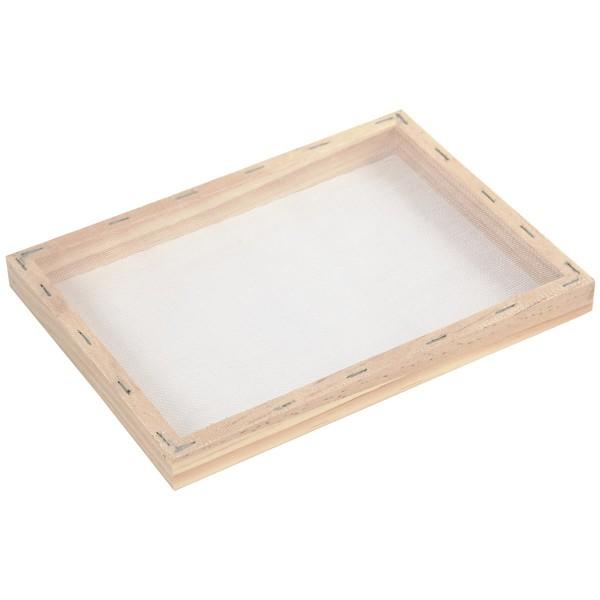 Tamis pour fabrication de papier - 23 x 17 x 2 cm - Photo n°6