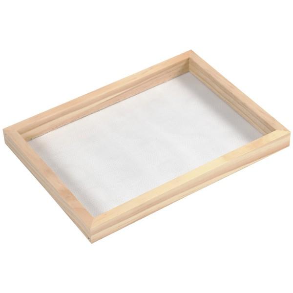Tamis pour fabrication de papier - 23 x 17 x 2 cm - Photo n°1