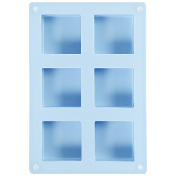Moule en silicone - Carré - 21,5 x 14,5 x 2,5 cm - Photo n°3