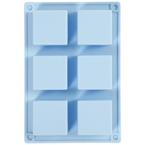Moule en silicone - Carré - 21,5 x 14,5 x 2,5 cm - Photo n°1