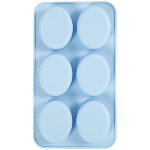 Moule en silicone - Ovale - 28 x 16 x 2,5 cm - Photo n°1