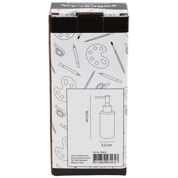 Distributeur de savon - Céramique - 150 ml - Photo n°4