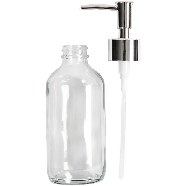 Distributeur de savon - Verre - 230 ml - Photo n°3