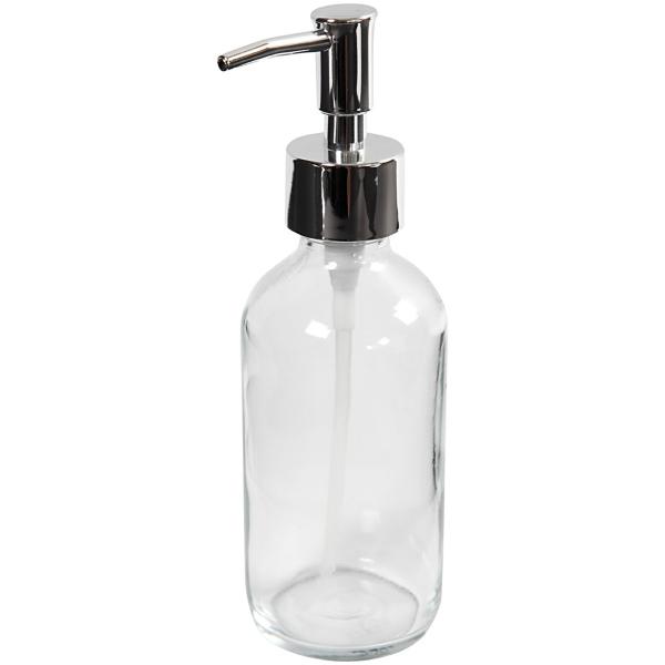 Distributeur de savon - Verre - 230 ml - Photo n°5