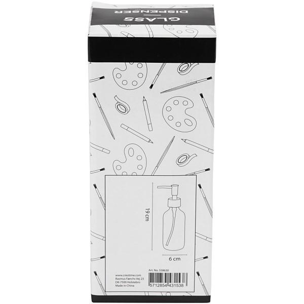 Distributeur de savon - Verre - 230 ml - Photo n°6