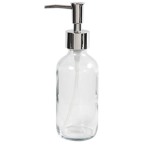 Distributeur de savon - Verre - 230 ml - Photo n°1