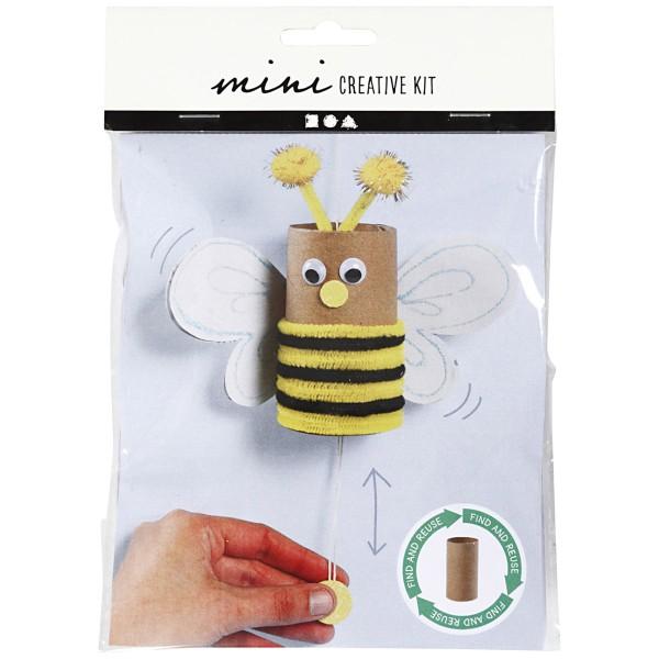 Mini kit créatif pour enfant spécial recyclage - Abeille - Photo n°2