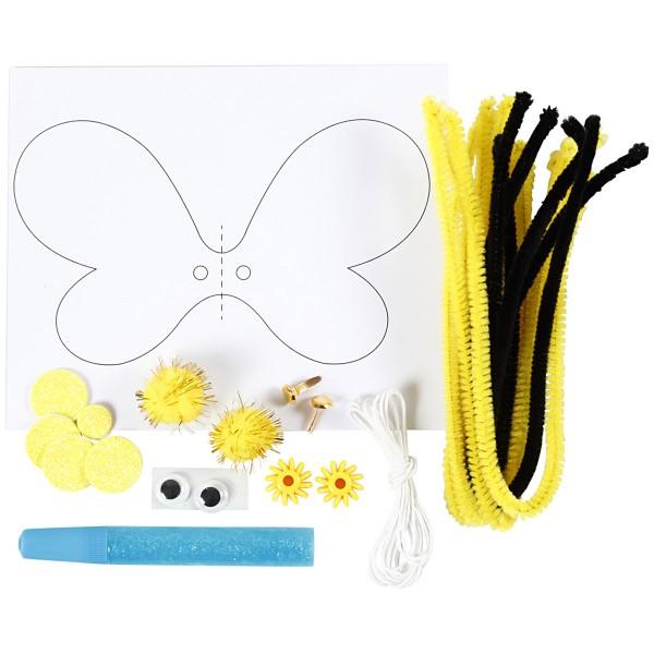 Mini kit créatif pour enfant spécial recyclage - Abeille - Photo n°4