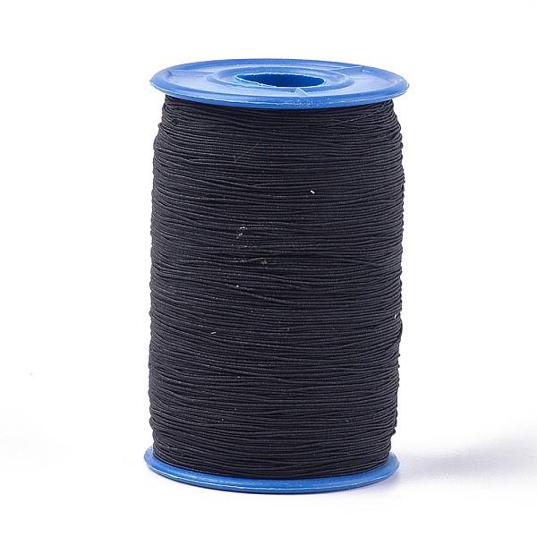 Fil élastique noir 0.6 mm x 10 m - Photo n°3