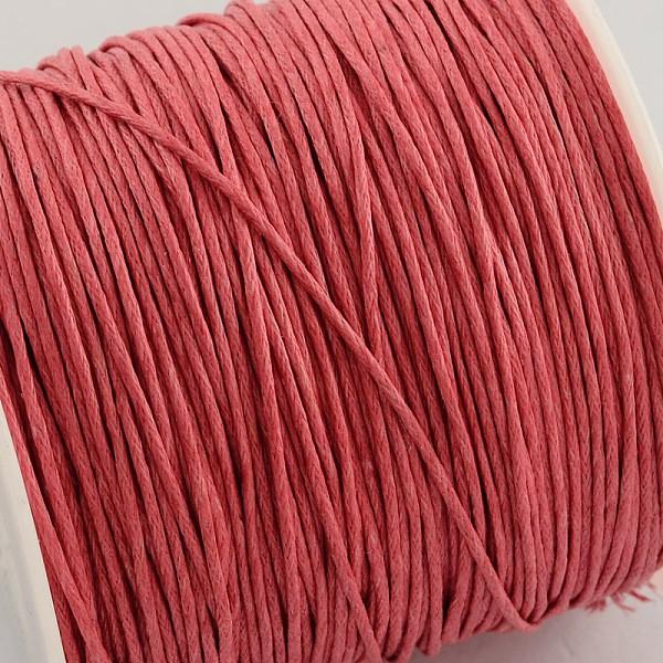 Fil coton ciré corail 1 mm x 2 m - Photo n°2