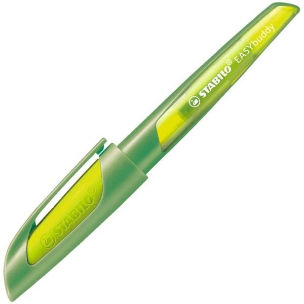 Stylo plume EASYbuddy A, droitiers, citron/vert - Photo n°1
