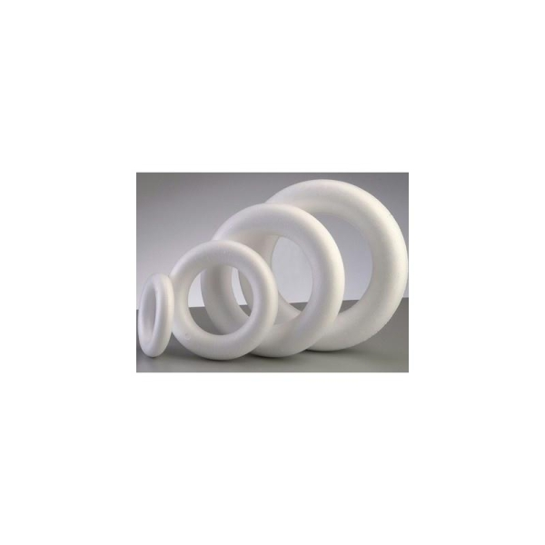 Anneau - Couronne polystyrène plein diam. 25 cm, bouée haute densité - Photo n°1