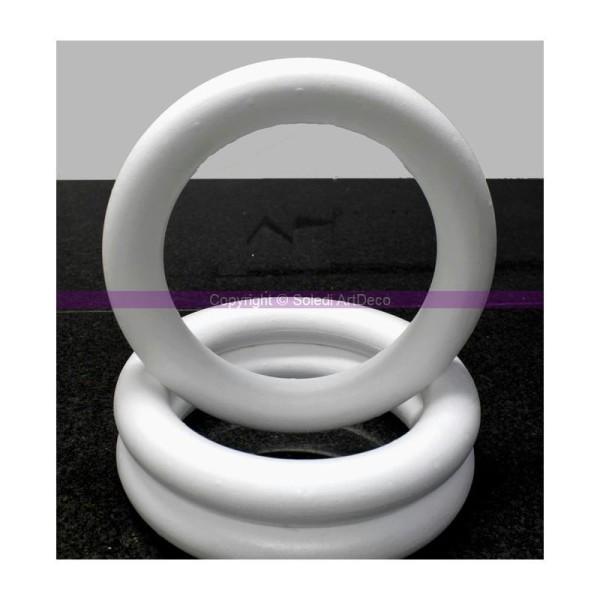 Anneau / couronne pleine, 43 cm de diamètre, Bouée en polystyrène haute densit& - Photo n°1