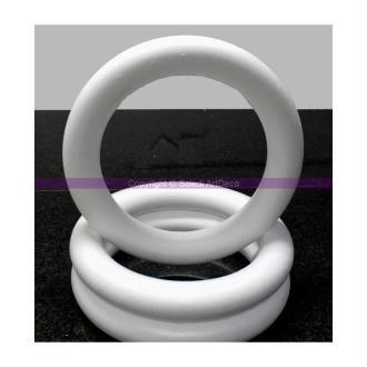 Anneau / couronne pleine, 43 cm de diamètre, Bouée en polystyrène haute densit&